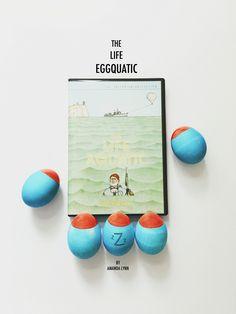 Wes Anderson Easter Eggs-- The Life Eggquatic (The Life Aquatic)