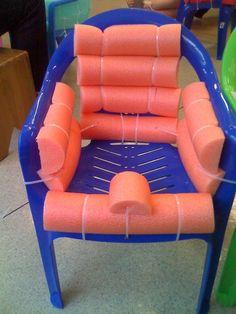 Cadeira adaptada