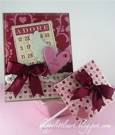 Wrapped Lollipop and Matching Card!