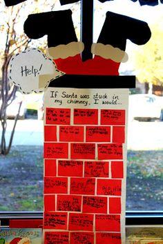 First Grade Wow: Help! Santa's Stuck!