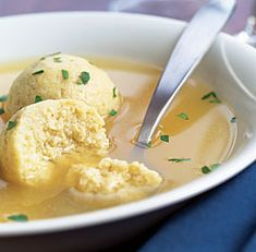 Matzo Ball Soup Recipe. Is also eaten during the year but during Pesach - Passover there's a lot more being made.