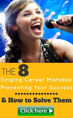 Yours FREE: Learn How to Become a Professional Singer and Get Paid to Sing. Including FREE bonus guide: Hot to Dramatically Improve your Vocal Range. Singing Career, Singing Tips, Choir Humor, Vocal Range, Music Covers, Your Voice, Get The Job, Feel Better
