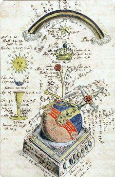 thegetty:  speciesbarocus:    Alchemical manuscript. [box 04]  FromManly Palmer Hall's Collection.