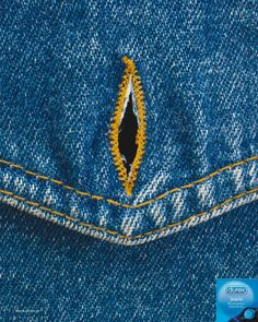 Adeevee - Ssl Hellas Durex Jeans: Buttonhole