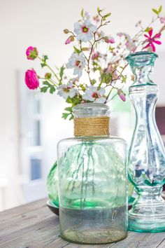 ❤️ this | vazen | glas | kleur | bloemen