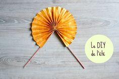 En cette grosse chaleur du mois de juillet, voici les étapes pour faire toi-même ton éventail en papier ! Un tutoriel 100% origami !