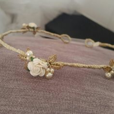 Whispering Breeze Headband available at Lace & Co. Bridal Boutique #bohemian #accessories