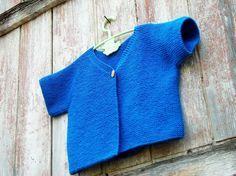 Tuto tricot gilet 6/8 ans aiguilles 4