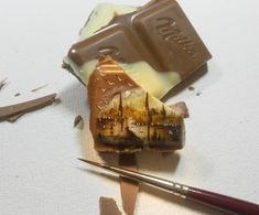 Tiny paintings by Hasan Kale | via Honestly WTF