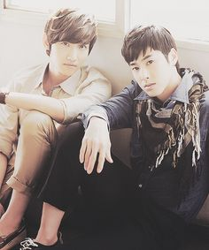 Changmin and Yunho of DBSK