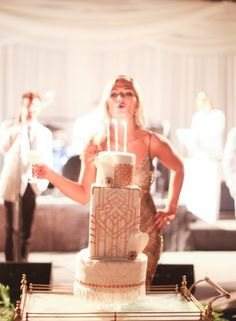 Roaring 20's Inspired 30th Birthday Party:  Photography : Elizabeth Messina - http://www.elizabethmessina.com/#!/images/love/gallery/1