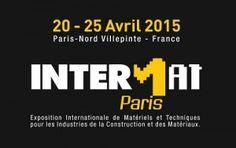 #Salon Intermat à Paris du 20 au 25 avril 2015. Le Salon Intermat fédère tous les acteurs internationaux de l'industrie de la construction et des matériaux http://www.batilogis.fr/agenda/salon-france-2015-1.html