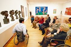 The Meet Me at MoMA, program for people with dementia, in New York #Alzheimers #tgen #mindcrowd www.mindcrowd.org