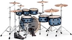 Collector's Series - Blue Silk Onyx FinishPly™ with Black Chrome Hardware