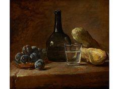 Still Life with Plums (1730), Jean-Simeon Chardin