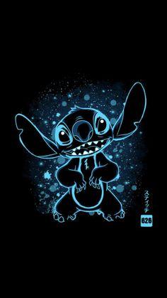 Disney Phone Wallpaper, Cartoon Wallpaper Iphone, Tumblr Wallpaper, Dark Wallpaper, Cute Cartoon Wallpapers, Galaxy Wallpaper, Disney Stitch, Lilo And Stitch, Disney Drawings