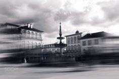 Largo de Camões - Largo de Camões, Ponte de Lima, Portugal. Camões Square, By JJMacedo