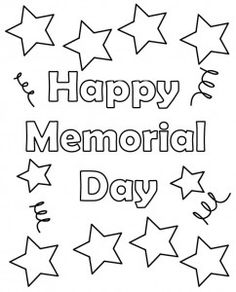 Great 11 Coloring Pictures Memorial Day | Print Color Craft