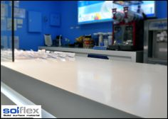 Solflex Solid Surface is an innovation crafted to be durable, practical, and functional.