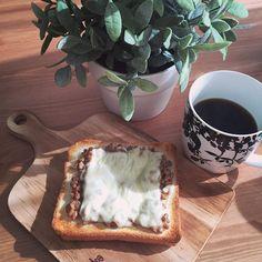 erina0624oモーニン! 大好きな納豆トーストで今日も元気に、行ってきまーす #納豆トースト#朝ごはん#おうちごはん #パン派