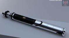 My own lightsaber Spiner Mk I, Lukasz Majchrzak on ArtStation at https://www.artstation.com/artwork/5d38P