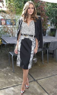 Look of the day | Olivia Palermo wearing a Tibi skirt at a Montblanc launch party in Paris | InStyle UK