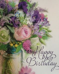 Free Happy Birthday Cards Printables May your birthday be filled with wonderful surprises! The post Free Happy Birthday Cards Printables appeared first on Ideas Flowers. Happy Birthday Flowers Wishes, Happy Birthday Bouquet, Free Happy Birthday Cards, Birthday Wishes And Images, Birthday Blessings, Happy Birthday Pictures, Birthday Wishes Quotes, Happy Birthday Messages, Happy Birthday Greetings