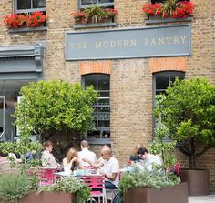 The Modern Pantry - Clerkenwell - London: see lunch and BRUNCH! + Terrace