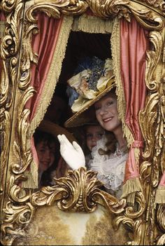 Helen Mirren in 'The Madness of King George' Dir. by Nicholas Hytner. Set Decoration by Carolyn Scott. Costume Design by Sue Honeybourne & Mark Thompson. Catherine Of Braganza, Catherine Of Aragon, Rebecca Front, Anne Of Denmark, Queen Mary Ii, Anne Neville, Victoria Wood, The Man Who Laughs, Anne Of Cleves