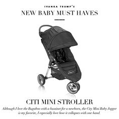 Ivanka Trump's New Baby Must Haves #creativefamilyconnections #surrogacy #babyproducts