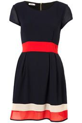 **Colour Block Dress by Wal G