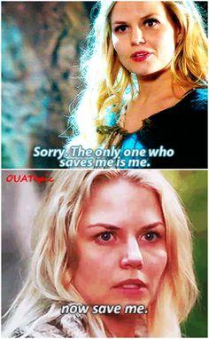 Emma to Hook vs Emma to Regina