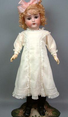 """GORGEOUS BROWN-EYED 26"""" KAMMER & REINHARDT Antique German Doll SO PRETTY 1900!   eBay"""