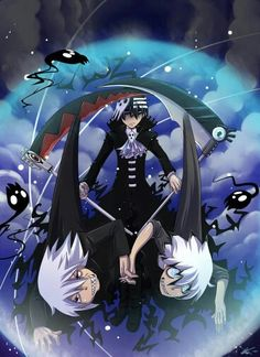 Death the Kid, Soul, scythe form; Soul Eater