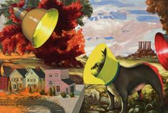 "James Stephens: Pooch, 2005 and 2007, oil on canvas, 27 3/4"" x 39"", Collection of James Duffy"