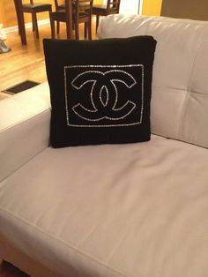 Designer Inspired Pillow Crystal Rhinestones by BlingTwinz on Etsy, $50.00