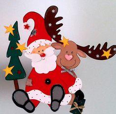 fensterbild rudi rentier rudolph elch rudolf weihnachten tonkarton conchila fensterbilder. Black Bedroom Furniture Sets. Home Design Ideas