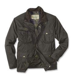 Barbour® Men's Waxed Cotton Utility Jacket