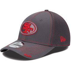NEW ERA Men's San Francisco 49ers 39THIRTY Graphite Neo Stretch-Fit Cap $25