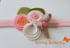 Oh I super want this spring headband for Charlie!