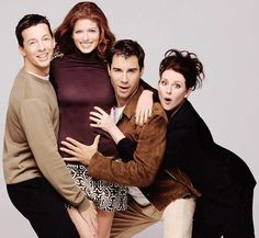 Will and Grace is probably my favorite series. It made me laugh. It made cry. It was absolutely perfect.