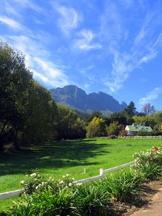 Stellenbosch, South Africa Outdoor Spaces, Places Ive Been, South Africa, Bucket, African, Adventure, Mountains, Travel, Outdoor Living Spaces