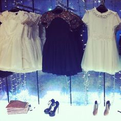 #topshop #oxfordcircus #dresses #beads #party #shoes