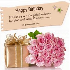 Super birthday wishes messages belated 67 ideas Spiritual Birthday Wishes, Happy Birthday Flowers Wishes, Nice Birthday Messages, Birthday Message For Friend, Free Birthday Card, Beautiful Birthday Cards, Happy Birthday Love, Birthday Card Sayings, Birthday Blessings