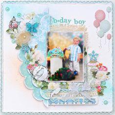 "Birthday Boy ~Webster`s Pages"" - Scrapbook.com"