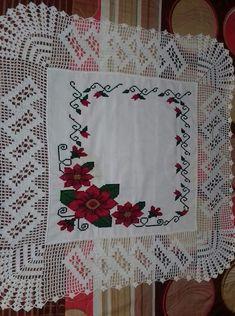 Crochet Curtains, Crochet Tablecloth, Crochet Doilies, Crochet Lace, Crochet Boarders, Cross Stitch Fruit, Counted Cross Stitch Kits, Chrochet, Filet Crochet