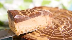 Tagalong Pie: This chocolate-peanut butter pie tastes exactly like s Tagalong - because sometimes you can't wait until Girl Scout cookie season.