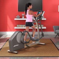 La elíptica Life Fitness X1 Go es una máquina ideal para iniciarse en el entrenamiento cardiovascular.