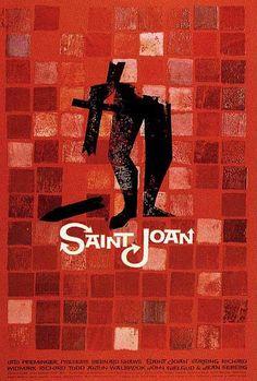 Saul Bass   Saint Joan
