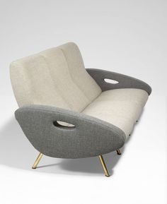 Sofa by Marco Zanuso   From a unique collection of antique and modern sofas at https://www.1stdibs.com/furniture/seating/sofas/